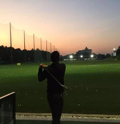 圣马斯团队活动之暖冬高尔夫